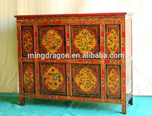 Chinese antique Tibetan cabinet