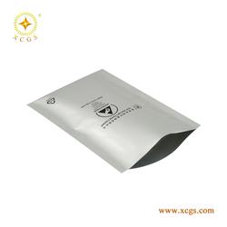 Shenzhen Anti static moisture barrier heavey duty aluminum foil with zipperlock bag