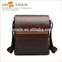 2015 Newest design Office Fashion World Brand Men's Bag case vintage sling bag