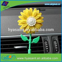Shanghai colorful flower shape car air freshener