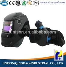 Chino de soldadura casco con respirador, Soldadura de aire casco