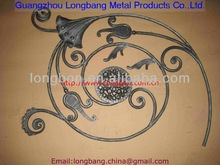 hand forged ornamental iron parts wrought iron