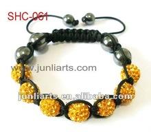 2013 Hot Sale Fashion Shamballa Jewel, Shamballa bracelet clay ball