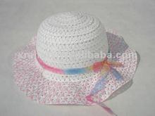 summer sun paper straw children hats