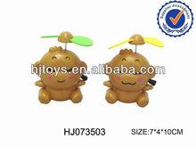 pull line bo fan toys,plastic cartoon fan toys summer toys for kids