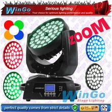 36X15W 5 in 1 rgbaw LED zoom stage light/10w 12w 15w rgbwa LED zoom led wash moving head light/ dj equipment system