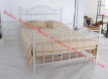used steel double bed ,bedroom furniture set