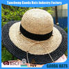 Colorful mexican cheap fashion lady straw hat