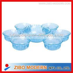 7pc glass bowl set/Glassware