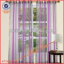 Grommet Top Stripe Sheer Curtains In Stock