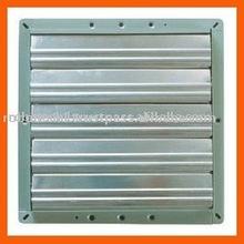 Shutters for ventilating fan