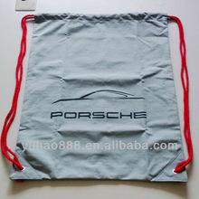Drawstring promotional shopping bags OEM service