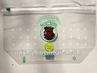 Fruits packaging bag/Grapes plastic bag with ziplock