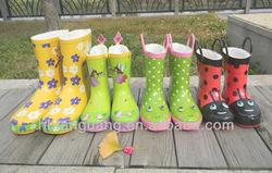children's rain boots lovely stereo modelling vogue rain gear