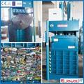 Schrott-pet-flasche Recycling/kunststoffwaren kompressionsmaschine