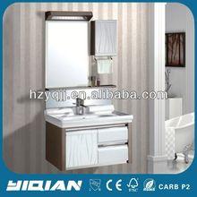 Luxury Design Stainless Steel Back Panel Mirrored Modern Design Cabinet