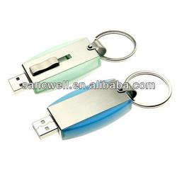 Hot selling 512 gb metal usb flash drive Swivel metal usb stick from china