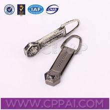 sliders zipper do metal zipper puxa para jaqueta