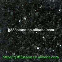 natural Low price black granite hearth