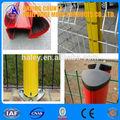 China alibaba proveedor de poste de la cerca/de acero poste de la cerca precio/recubierto de pvc de acero poste de la cerca con iso9001, sgs