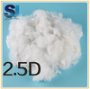 Super white recycled polyester staple fiber for 1.2D to 15D
