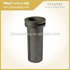 Graphite smelting crucible designed for gold jewelry casting