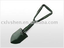 Garden hand tools foldable shovel