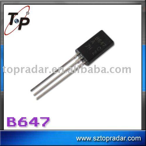b647 del transistor