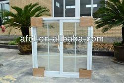 Zhejiang AFOL pvc windows,pvc profile sliding windows and doors,new window grill design