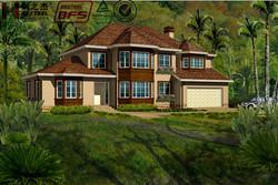 Luxury Prefab Steel Villa