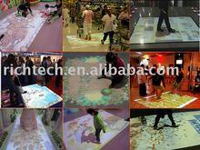 RichTech Interactive floor, interactive wall, interactive table, interactive window etc