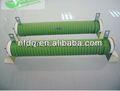 30w-2000w high power revestido de cerâmica tubular wirewound resistor com onda- faixa de enrolamento