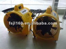 200mm yellow plastics portable ventilator(fan)