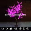 1.8m Bestseller künstliche led weihnachtsbeleuchtung kirschenbaum licht fz-768 rot