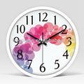 Caliente venta de decoración para el hogar baratos promoción de plástico reloj de pared, reloj de pared reloj