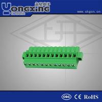 Hot sale 5.08mm 16Amp 300V AC Europe Type terminal block/terminal block junction box
