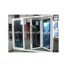 Resistant to extreme climate!!! Thermal break 2+1 aluminum folding door CE porte pliable