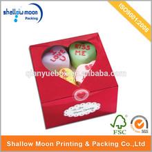 custom wholesale high quality wedding sugar/sweet box