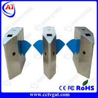 Stainless steel security access turnstile motor speed gate with door access control system