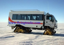 Rubber Track Conversion System for 4x4 Vehicles