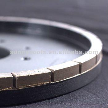 Hot Sale Metal Bond Diamond Squaring Wheel