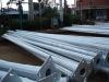 galvanized tapered powder coated power pole