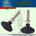 De plástico h172 anti- la máquina de vibración de los pies, nivel ajustable pies