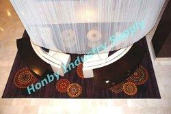 6mm Ultra Cool White Enamel Metal Beaded Curtain