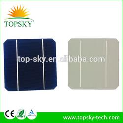 high efficiency 5X5 monocrystalline solar cell for solar house system