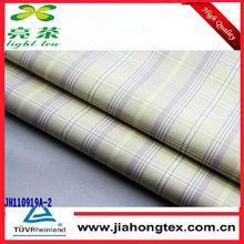 cotton/nylon/spandex stripe fabric for shirt