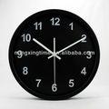 simple baratos redondo de metal reloj de pared moderna