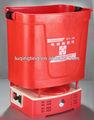 Alimentado por bateria aplicador de adubo granulado, milho fertilizantes dispositivo, adubo seco máquina de espalhamento