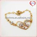Barato de moda de la mariposa slave tobillo pulseras de cadena con anillo de