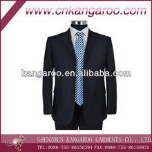 2015 fashion new design cotton men business suit